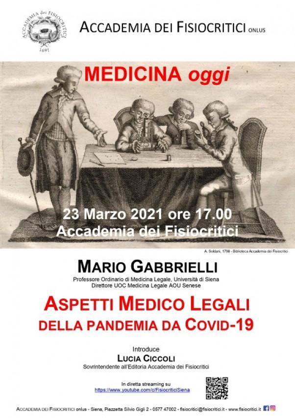 Aspetti Medico Legali della pandemia da Covid-19