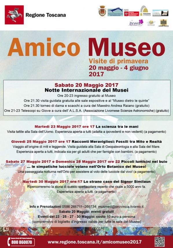 Amico Museo: Serie di iniziative