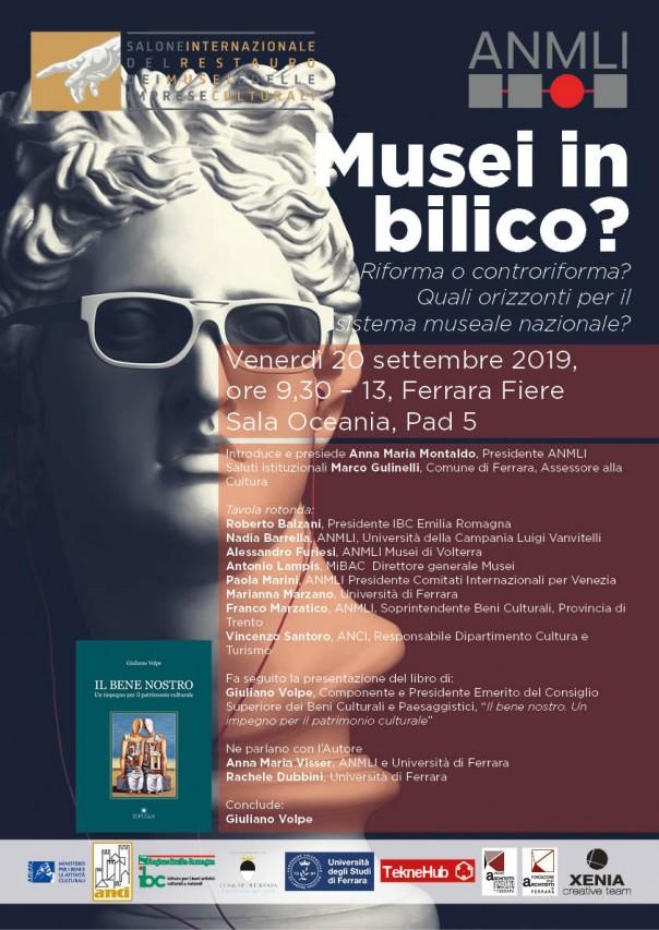 Musei in Bilico? ANMLI al Salone Internazionale del Restauro