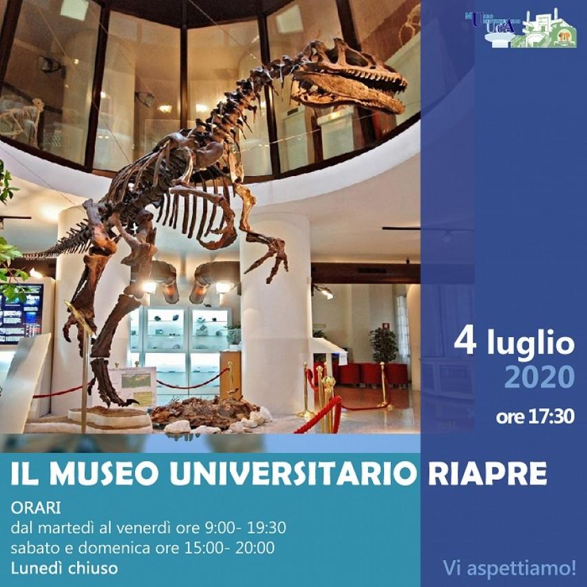 Riapertura MUSEO UNIVERSITARIO DI CHIETI