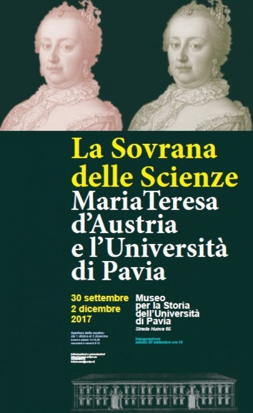La sovrana delle scienze – Maria Teresa d'Austria e l'Università di Pavia
