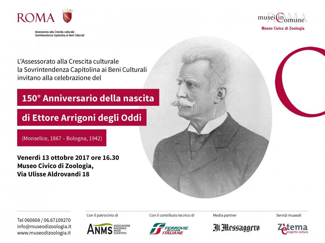 150° anniversario della nascita del conte Ettore Arrigoni degli Oddi
