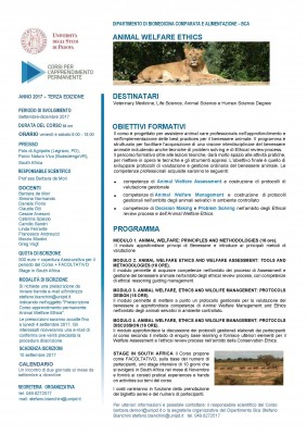 Animal Welfare Ethics