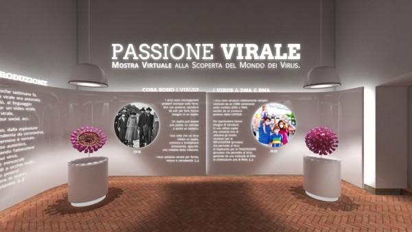 PASSIONE VIRALE mostra virtuale alla scoperta del mondo dei virus