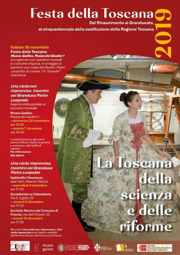 Festa della Toscana 2019: la Toscana della scienza e delle riforme
