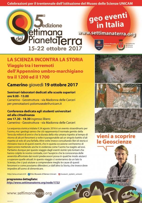 LA SCIENZA INCONTRA LA STORIA - Viaggio tra i terremoti dell'Appennino umbro-marchigiano tra il 1200 ed il 1700