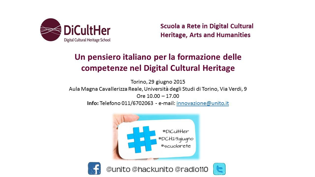 Un pensiero italiano per la formazione delle competenze nel Digital Cultural Heritage