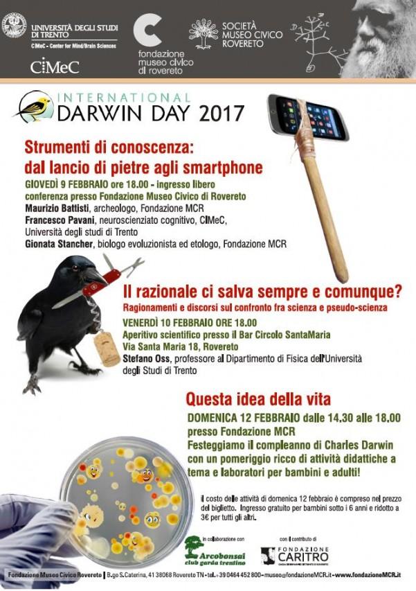 Darwin Day 2017 al Museo di Rovereto