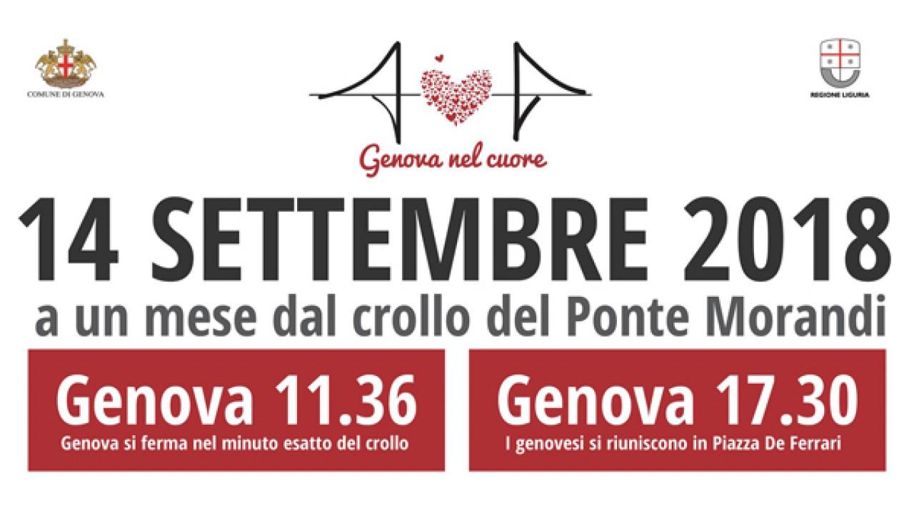 #genovanelcuore 14 settembre