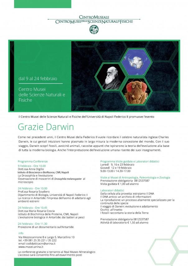 GRAZIE DARWIN 2017