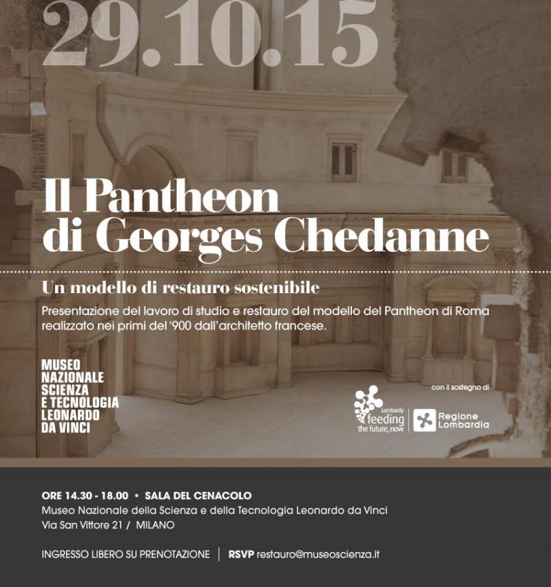 Il Pantheon di Georges Chedanne. Un modello di restauro sostenibile