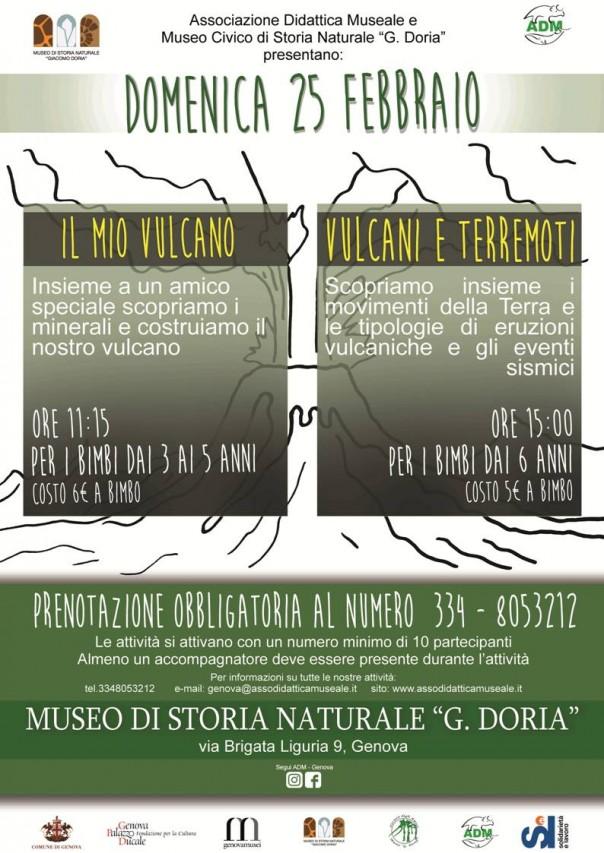 Domenica al Museo fra vulcani e terremoti!