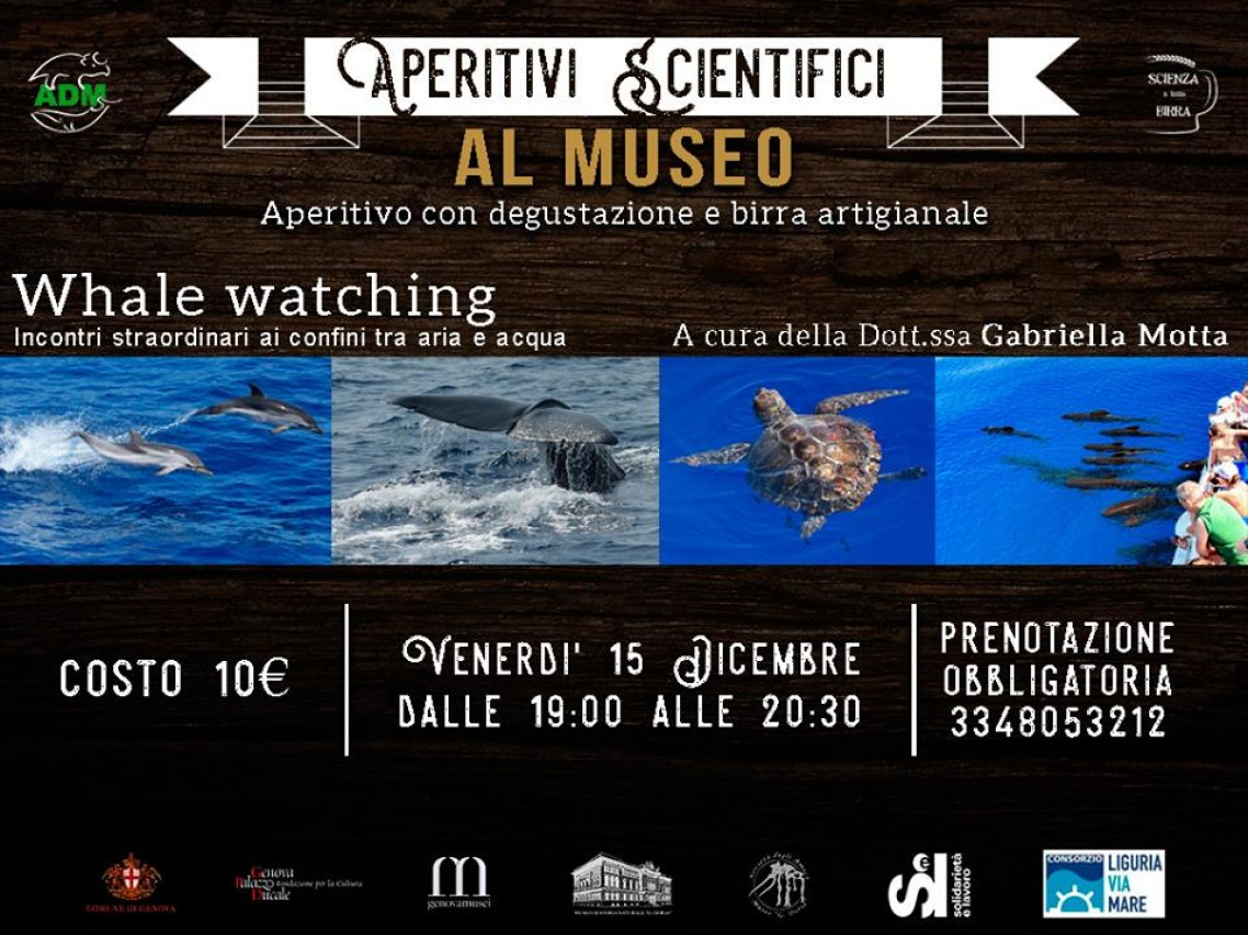 APERITIVI SCIENTIFICI AL MUSEO