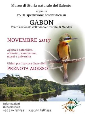 VIII spedizione scientifica in Gabon