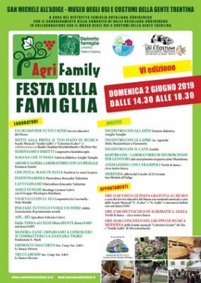 """VI edizione di """"Agrifamily. Festa della famiglia"""" al Museo"""