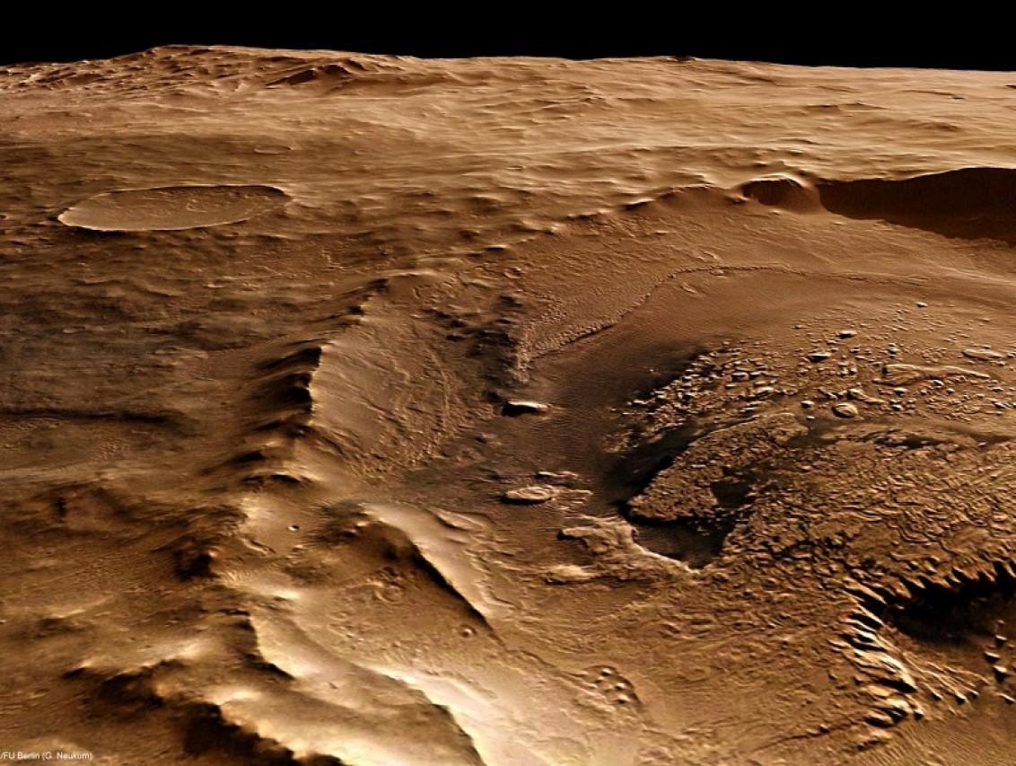 La scoperta dell'acqua liquida su Marte