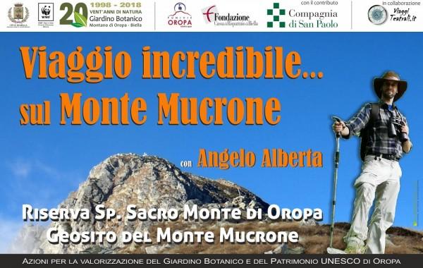 Viaggio incredibile sul Monte Mucrone, con Angelo Alberta