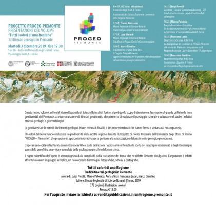 Presentazione del volume: Tutti i colori di una Regione - 13 itinerari geologici in Piemonte