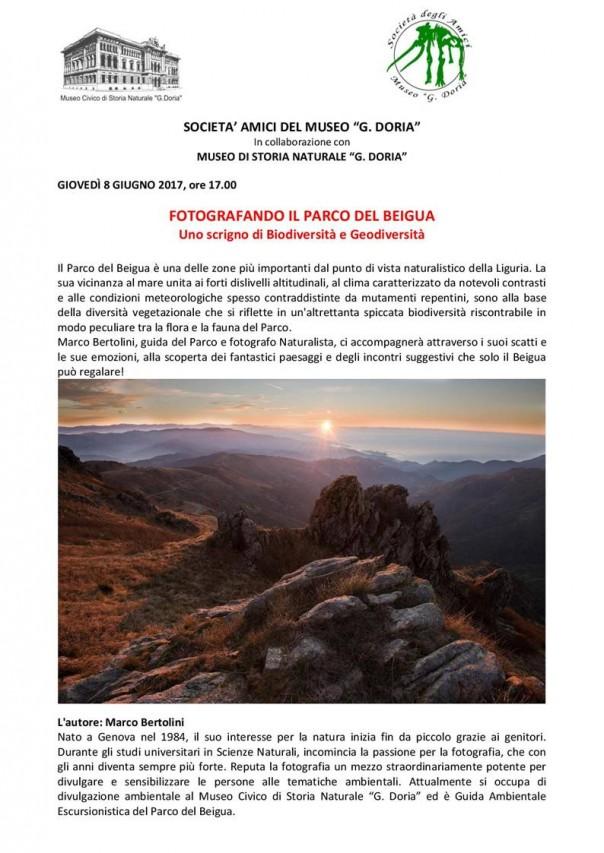 FOTOGRAFANDO IL PARCO DEL BEIGUA - Uno scrigno di Biodiversità e Geodiversità