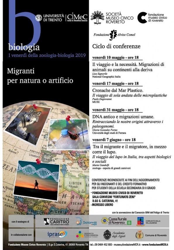 Conferenze I venerdì della Zoologia-Biologia 2019