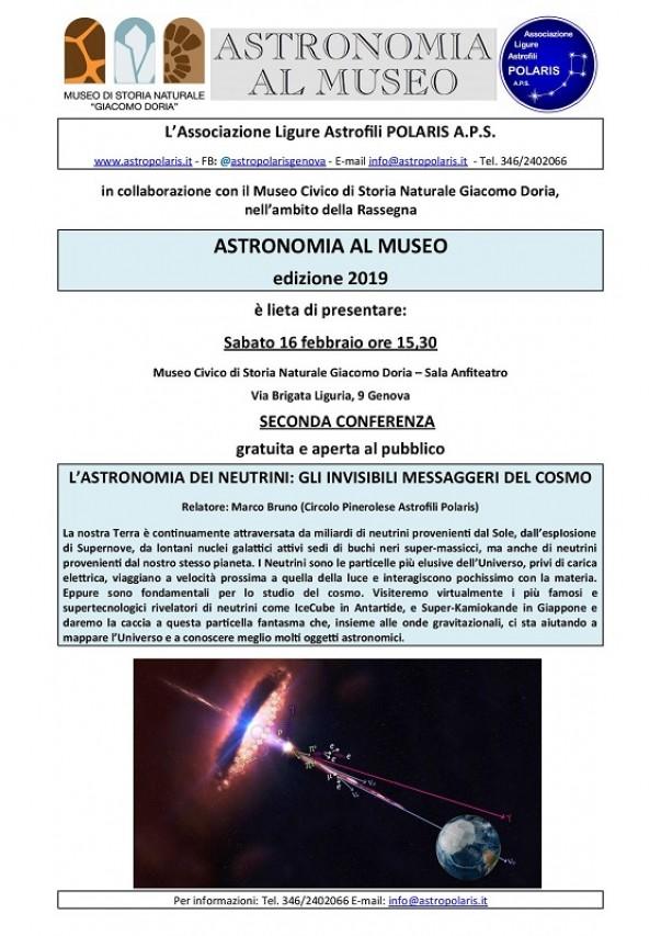 L'ASTRONOMIA DEI NEUTRINI: GLI INVISIBILI MESSAGGERI DEL COSMO