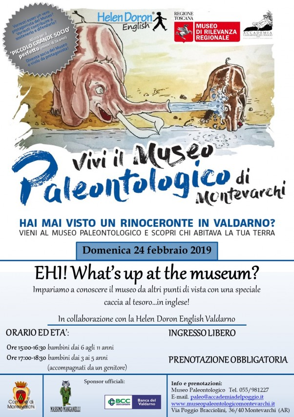 EHI! What's up at the museum?