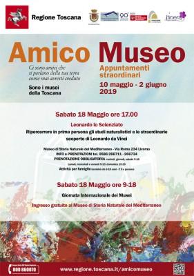Amico Museo 2019 - eventi straordinari