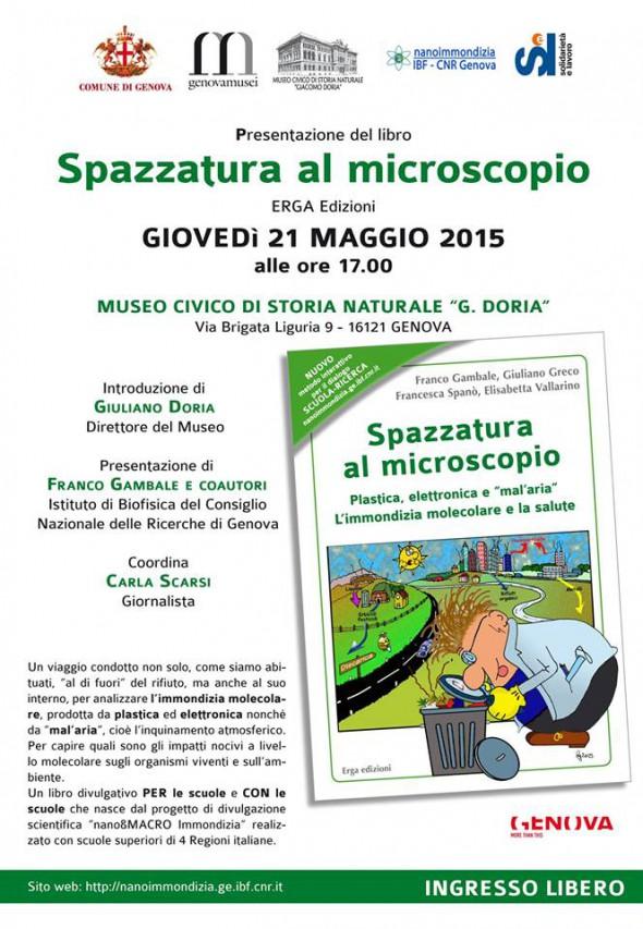 SPAZZATURA AL MICROSCOPIO di Erga Edizioni