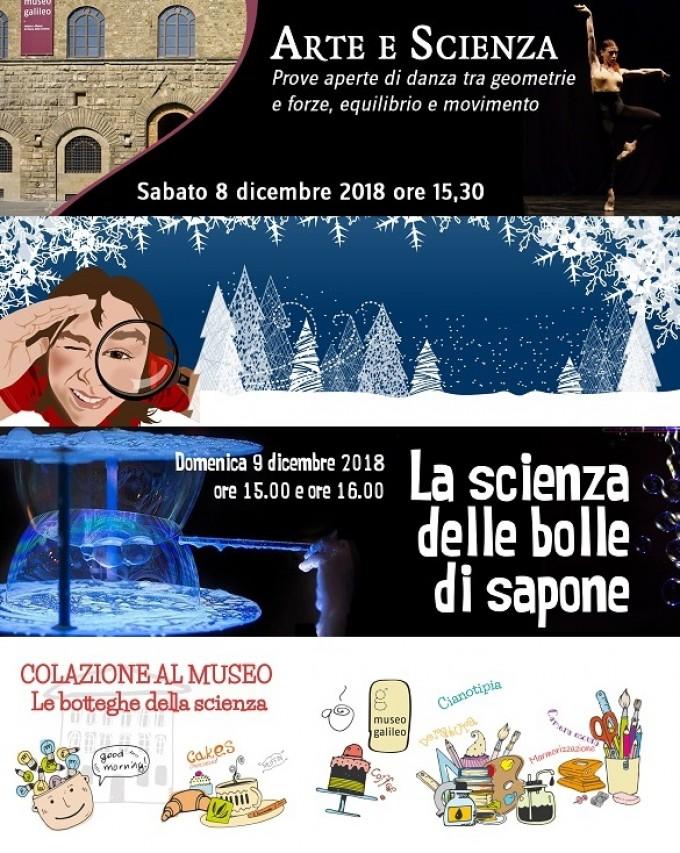 Fine settimana ricco di proposte al Museo Galileo