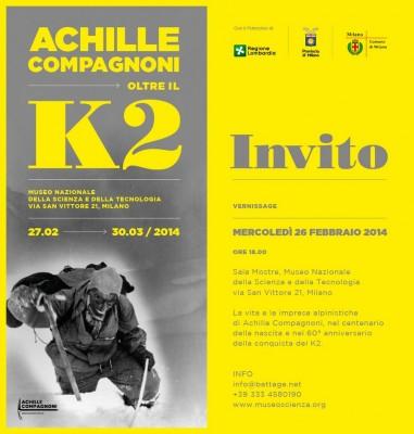 """""""Achille Compagnoni. Oltre il K2"""""""