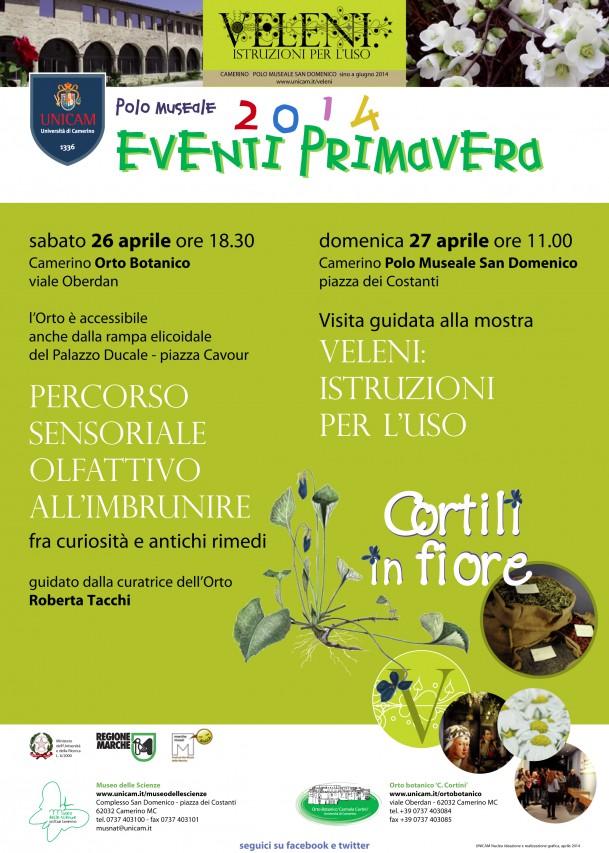 Eventi di primavera al Polo Museale dell'Università di Camerino!