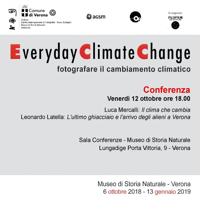 Il clima che cambia - Luca Mercalli, L'ultimo ghiacciaio e l'arrivo degli alieni a Verona - Leonardo Latella