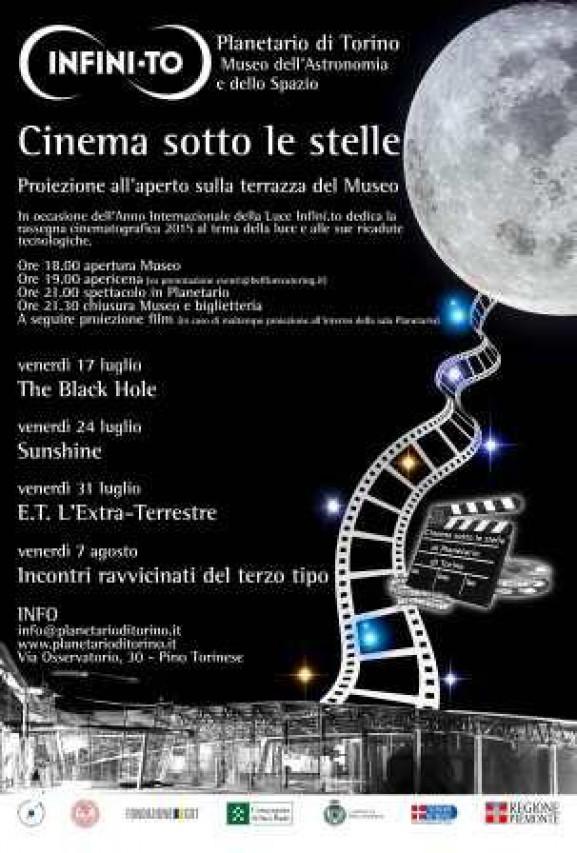 Cinema estivo al Planetario!