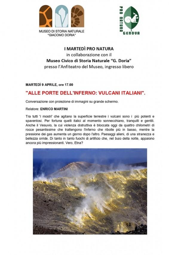 ALLE PORTE DELL'INFERNO: VULCANI ITALIANI