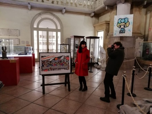Finissage mostra Tomoko Nagao e conferenza prof. Salvatore Mangione