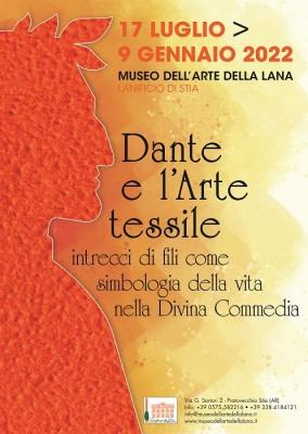 Dante e l'Arte tessile: intrecci di fili come simbologia della vita nella Divina Commedia