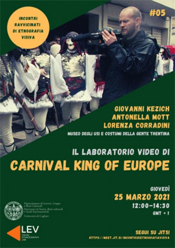 I video di Carnival King of Europe all'Università di Cagliari