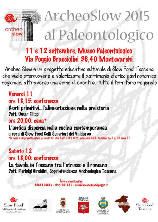 ArcheoSlow 2015 al Paleontologico