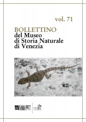 BOLLETTINO 71 del Museo di Storia Naturale
