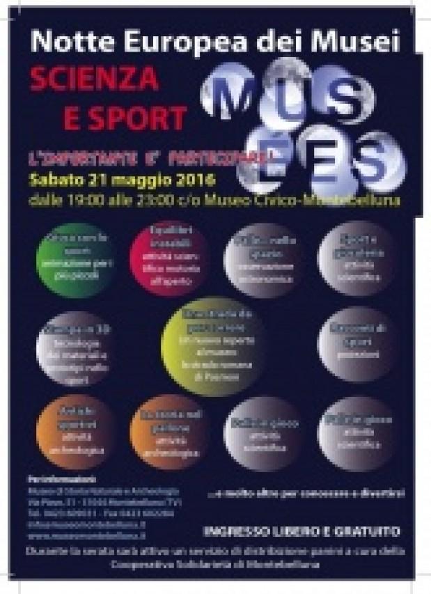 Notte europea dei Musei 2016 - Scienza e Sport. L'importante è partecipare!
