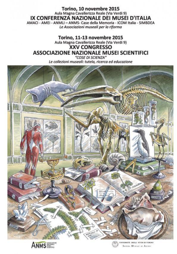 """XXV CONGRESSO ANMS -  """"COSE DI SCIENZA"""" Le collezioni museali: tutela, ricerca ed educazione"""