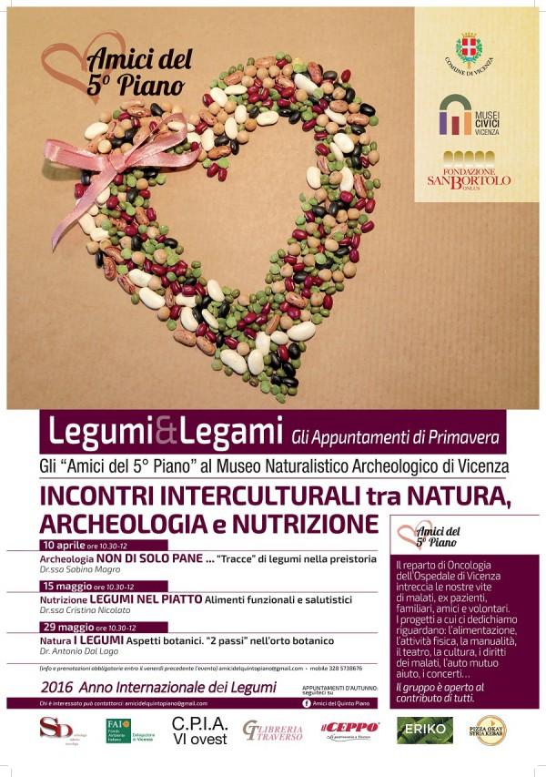 Legumi e Legami. Incontri interculturali tra Natura, Archeologia e Nutrizione.