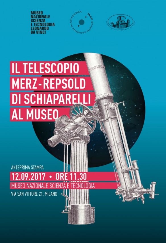 Il Telescopio Merz-Repsold di Schiaparelli al Museo