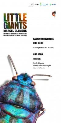 Conferenza - Little Giants: ritratti al microscopio - Marcel Clemens