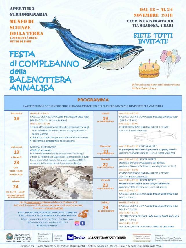 """Festa di compleanno della """"Balenottera Annalisa"""