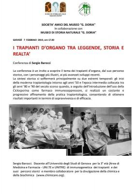I TRAPIANTI D'ORGANO TRA LEGGENDE, STORIA E REALTA'