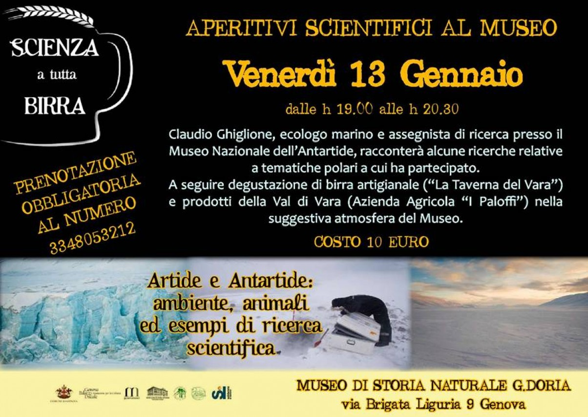 APERITIVI SCIENTIFICI AL MUSEO