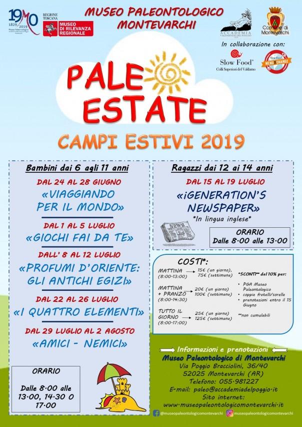 Paleo Estate - Campi estivi 2019