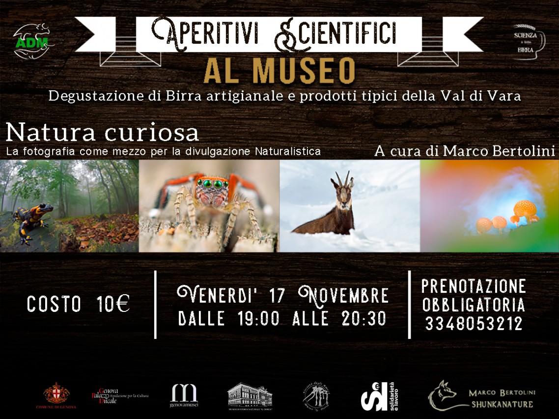 Aperitivi Scientifici al Museo - NATURA CURIOSA