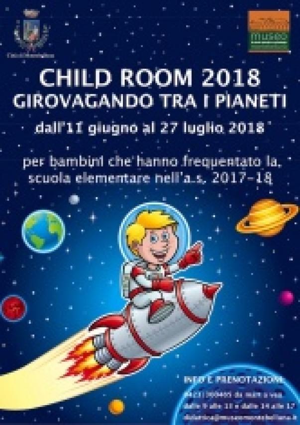 CHILD ROOM 2018- CENTRI ESTIVI AL MUSEO. ISCRIZIONI APERTE!